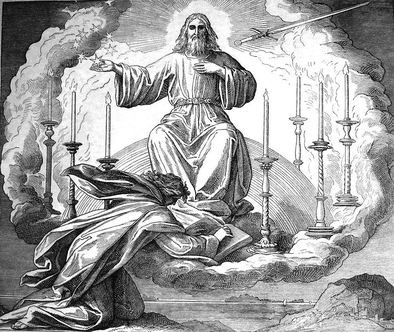 Dore, Vision of John on Patmos