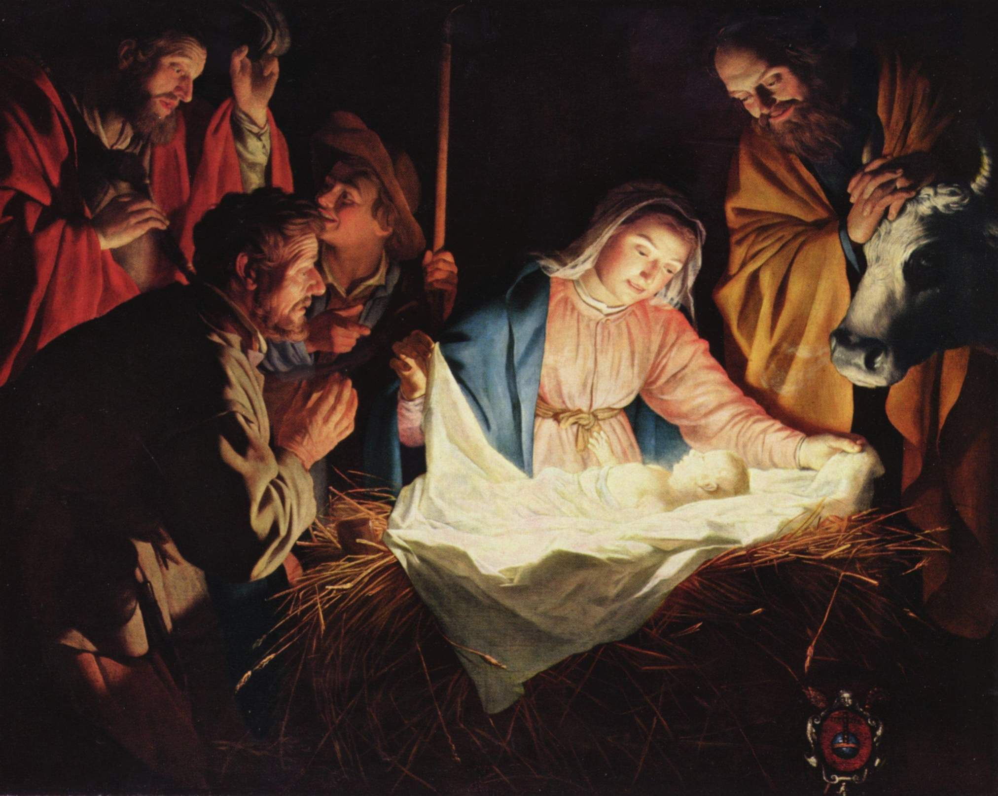 Gerard van Honthorst, Adoration of the Shepherds